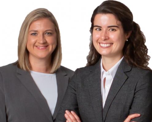 Lauren Darden and Ashley Waterbury